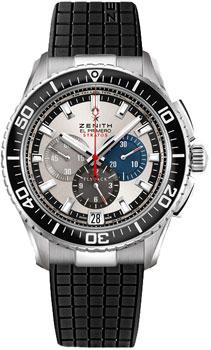 Швейцарские наручные  мужские часы Zenith 03.2066.405_69.R515