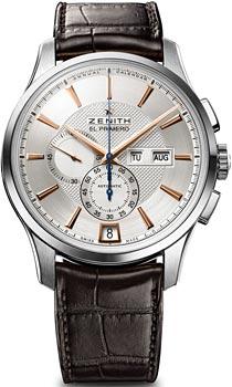 Швейцарские наручные  мужские часы Zenith 03.2070.4054_02.C711