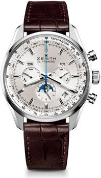 Швейцарские наручные  мужские часы Zenith 03.2091.410_01.C494