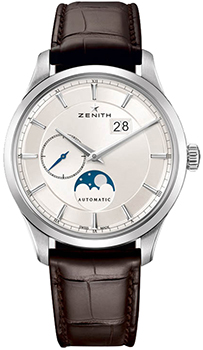 Швейцарские наручные  мужские часы Zenith 03.2143.691_01.C498