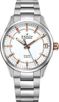 Швейцарские наручные  мужские часы Zenith 03.2171.4650_01.M2170