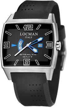 fashion наручные  мужские часы Locman 030000BKFSKWSIK. Коллекция STEALTH