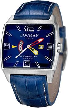 fashion наручные  мужские часы Locman 030000BLFYLRPSB. Коллекция STEALTH