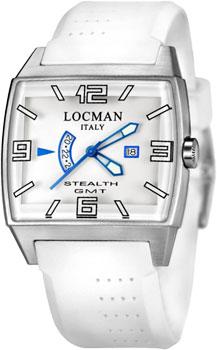 fashion наручные  мужские часы Locman 030000WHFBLKSIW. Коллекция STEALTH