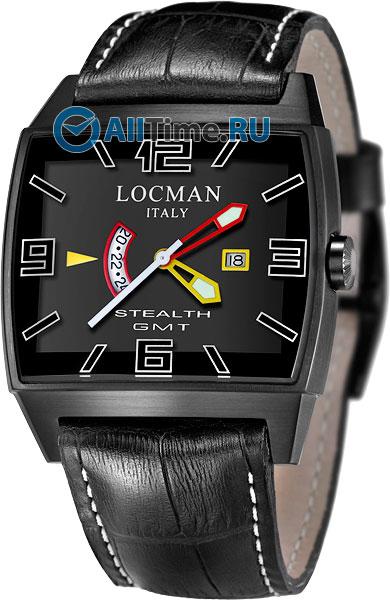 Мужские наручные часы в коллекции Stealth Locman