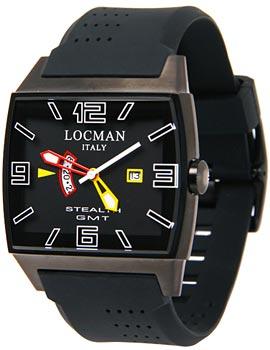 fashion наручные  мужские часы Locman 0300BKBKFYLRSIK. Коллекция STEALTH