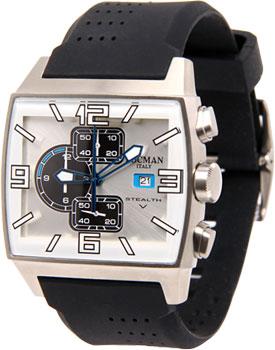 fashion наручные  мужские часы Locman 030100WHKSK0SIK. Коллекция STEALTH