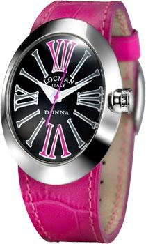 fashion наручные  женские часы Locman 041000BKFXAGPSF-K-A. Коллекция DONNA