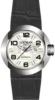 fashion наручные  женские часы Locman 042100MWNBK0PSK-W-PS. Коллекция DONNA