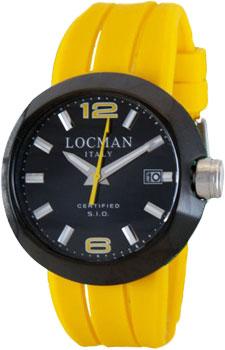 fashion наручные  мужские часы Locman 0422BKBKNYL0SIK-YS-K. Коллекция ONE
