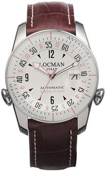fashion наручные  мужские часы Locman 045400AVFKRAPST. Коллекция AVIATORE