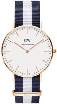 fashion наручные  женские часы Daniel Wellington 0503DW. Коллекция Glasgow