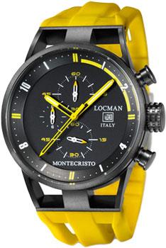 fashion наручные  мужские часы Locman 0510BKBKFYL0GOY. Коллекция MONTECRISTO