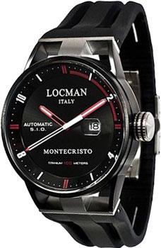 fashion наручные  мужские часы Locman 0511KNBKFRD0GOK. Коллекция MONTECRISTO