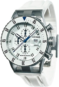fashion наручные  мужские часы Locman 051200WBWHNKSIW. Коллекция MONTECRISTO