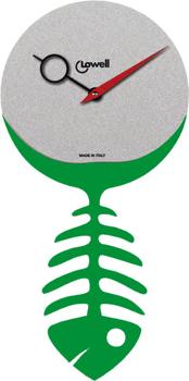 Настенные часы  Lowell 05853V. Коллекция Metal