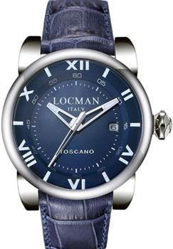 fashion наручные  мужские часы Locman 0590V05-00BLPSB. Коллекция TOSCANO