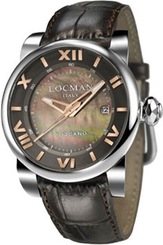 fashion наручные  мужские часы Locman 0590V11-00MNPSN. Коллекция TOSCANO