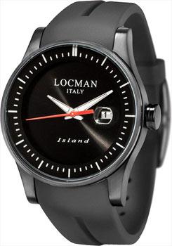 fashion наручные  мужские часы Locman 0600BKKW-BKWSIA. Коллекция ISLAND