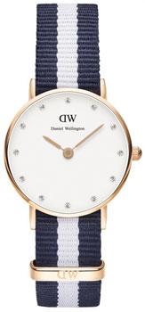 fashion наручные  женские часы Daniel Wellington 0908DW. Коллекция Glasgow