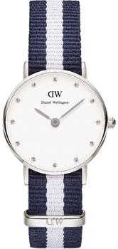 fashion наручные  женские часы Daniel Wellington 0928DW. Коллекция Glasgow
