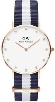 fashion наручные  женские часы Daniel Wellington 0953DW. Коллекция Glasgow