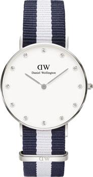 fashion наручные  женские часы Daniel Wellington 0963DW. Коллекция Glasgow