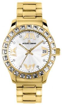 fashion наручные  женские часы Jacques Lemans 1-1517ZC. Коллекция Rome