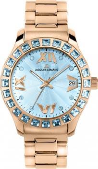 fashion наручные  женские часы Jacques Lemans 1-1517ZK. Коллекция Rome