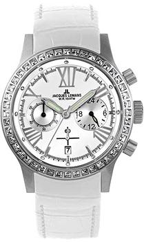 fashion наручные  женские часы Jacques Lemans 1-1527B. Коллекция Porto