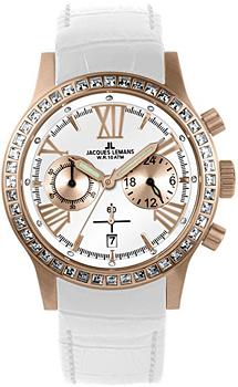 fashion наручные  женские часы Jacques Lemans 1-1527D. Коллекция Porto