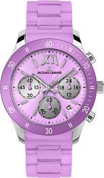 fashion наручные  женские часы Jacques Lemans 1-1587J. Коллекция Rome Sports
