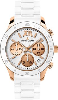 fashion наручные  женские часы Jacques Lemans 1-1587R. Коллекция Rome Sports