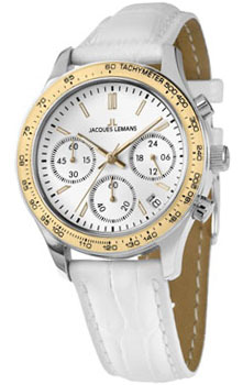 fashion наручные  женские часы Jacques Lemans 1-1587ZB. Коллекция Rome Sports