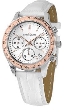 fashion наручные  женские часы Jacques Lemans 1-1587ZD. Коллекция Rome Sports