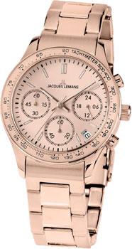 fashion наручные  женские часы Jacques Lemans 1-1587ZK. Коллекция Rome Sports