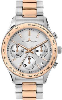 fashion наручные  женские часы Jacques Lemans 1-1587Zi. Коллекция Rome Sports