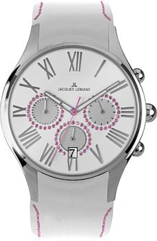fashion наручные  женские часы Jacques Lemans 1-1606O. Коллекция Capri
