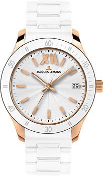 fashion наручные  женские часы Jacques Lemans 1-1623R. Коллекция Rome Sports