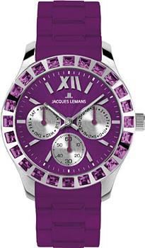 fashion наручные  женские часы Jacques Lemans 1-1627K. Коллекция Rome