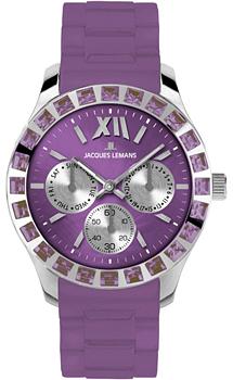 fashion наручные  женские часы Jacques Lemans 1-1627U. Коллекция Rome