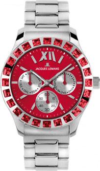fashion наручные  женские часы Jacques Lemans 1-1627ZD. Коллекция Rome Sports