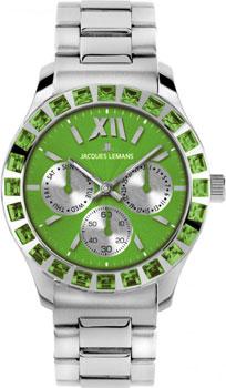 fashion наручные  женские часы Jacques Lemans 1-1627ZF. Коллекция Rome Sports