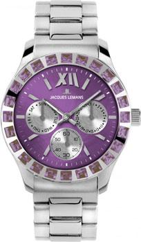 fashion наручные  женские часы Jacques Lemans 1-1627ZU. Коллекция Rome Sports
