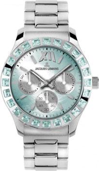 fashion наручные  женские часы Jacques Lemans 1-1627ZV. Коллекция Rome Sports