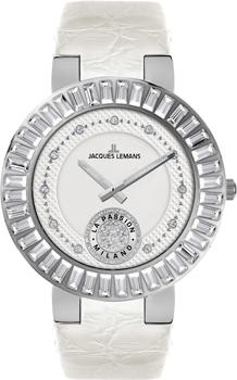 fashion наручные  женские часы Jacques Lemans 1-1683B. Коллекция Milano
