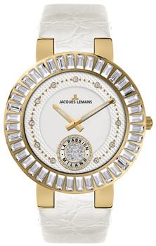 fashion наручные  женские часы Jacques Lemans 1-1683C. Коллекция Milano
