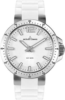 fashion наручные  женские часы Jacques Lemans 1-1707B. Коллекция Sport