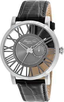 fashion наручные  мужские часы Kenneth Cole 10020809. Коллекция Transparency