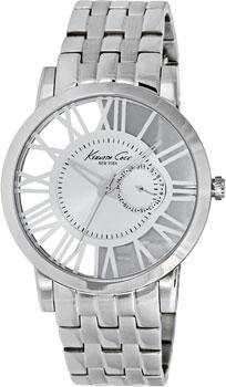 fashion наручные  мужские часы Kenneth Cole 10020810. Коллекция Transparency